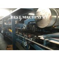 Quality PU Rock Wool EPS Continuous Sandwich Panel Making Machine PLC Control System for sale