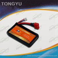China 40C Discharge Rate Airplanes Lithium Polymer Battery Pack 7.4V 1300mAh on sale