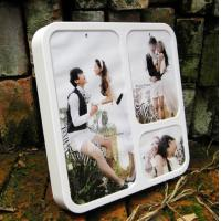 Buy PF (33) acrylic wall mounted photo frame at wholesale prices