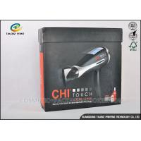 Quality Earphone Cardboard Packing Boxes Full Color Printed With Magnetic Folding Lid for sale