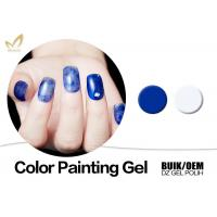 Quality Durable Nail Art Gel Paint , Harmony Color Uv Painting Gel European Standard for sale