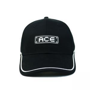 Quality 2020 New Men 6 panel hat Custom Logo PVC Rubber Patch Baseball Cap Hat for sale