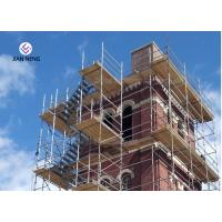 Quality High Pier Construction Scaffold Stair Tower Convenient Disassemble And Assemble for sale