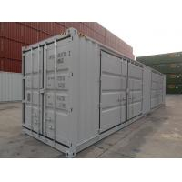 China 40 High Cube Open Side Container , Insulated Shipping Container Double Swing Door on sale