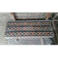 Marble Mosaic Border Natural Stone Skirtings Decorative Moldings Interior Stone Mouldings for sale