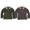 Contrast Collar Oversized Half Zip Sweatshirt , Fleece True Grit Sweatshirt for sale