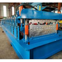 Quality PPGI Steel Two Layer Corrugated Roof Sheeting Machine , Roof Sheet Rolling Machines for sale