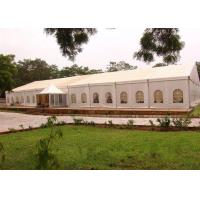 Quality Multifunction Wedding Event Tents 100 Km / H Wind Resisting CE Approved for sale