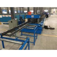 Quality Steel Channel Ladder Cable Tray Making Cold Roll Forming Machine 10 - 12 m / min for sale