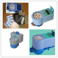 Quality Contactless Intelligent Water Meter With IC Card Prepaid For Measuring Meter Volume for sale