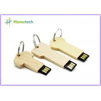 Buy cheap keychain High Speed Usb Flash Drive , Personalised wooden usb sticks gift from wholesalers