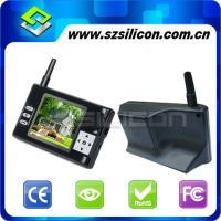 Quality 2.4G 3.5 inch wireless video door intercoms,Lithium battery,Photographs the record,Hyun black Panel,Long standby for sale