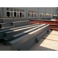 Q235 Steel H Beam , High Frequency Welded H Steel Beam for sale