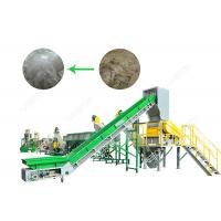 Buy cheap SUS304 Polythene Bags Recycling Machines 1000 Kg / H With Oil Washing Hot Washer from wholesalers