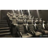 Quality Glittering Adventure Motion Electric Mobile 5D Cinema With Fiber Glass Material for sale