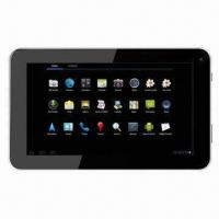 China 7-inch Capacitive Touch Tablet PC, Allwinner A13 Cortex A8 1GHz CPU, Google's Android 4.0 OS on sale