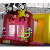 Quality 2016 hot sell Mickey mouse  inflatable bounce house with 24months warranty from GREAT TOYS for sale