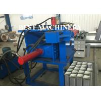 Buy Portabe Eblow Water Channel Pipe Roll Forming Machine Hydraulic Mould Cutting at wholesale prices