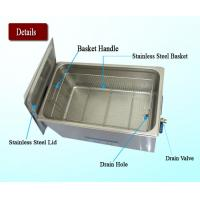 Quality 30L Heated Ultrasonic Jewelry Cleaner With Industrial PCB Board Control for sale