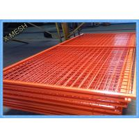 Buy cheap Orange Wire Mesh Fence Panels , Framed Welded Wire Fabric Corrosion Resistant from wholesalers