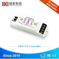 Quality DC5V DC24V 8A 2 channels Touch Panel LED CCT Controller; Color Temperature dimmer for sale
