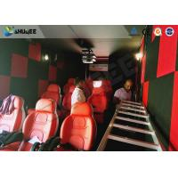 Quality 9D Cinema Simulator XD Theatre With 360 Degree VR Glasses / Motion Chair for sale