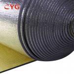 Quality Aluminium Foil Pe Air Conditioner Pipe Insulation Foam Ldpe Material Custom Length for sale