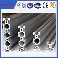 Quality Hot! 6063/6061 alloy Anodized Aluminum Rack profiles as customers drawings for sale