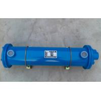 China Horizontal Type Tube Heat Exchanger , Hydraulic Oil / Water Cooler Plate Heat Exchanger on sale