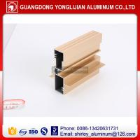 Quality Heat insulation thermal break aluminum extrusion profile for window and door for sale
