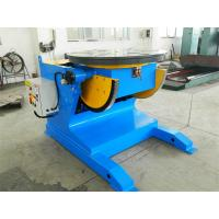 Quality 2 T Pipe Welding Positioners , 90° Tilting Angle CE Welding Rotary Positioner for sale