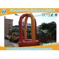 Quality 3m Diameter Euro Inflatable Bungee Trampoline , Outdoor Portable Inflatable Trampoline Rental for sale