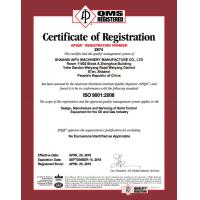 Aipu Solids Control Certifications