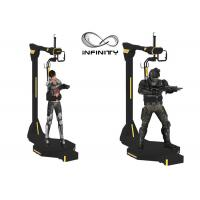 Quality INFINITY Electric Motion Virtual Reality Walking Platform For Shopping Mall for sale