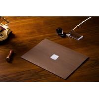 Parchment  Material Padded Certificate Holder 234x319mm Elegant Brown Color