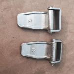 Quality casting steel container door lock set/ container door hinge. container spare parts hinge for sale