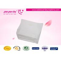 China Menstrual OEM Sanitary Napkins , 230mm Wood Pulp Sanitary Pads With Wings / No Wings on sale