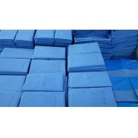 Quality Anti Static Sterile Blue Non Woven Surgical Drapes for Hospital Surgery for sale