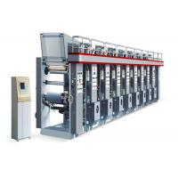 Buy High Speed Gravure Printing Machine , 8 Color Rotogravure Printing Machines at wholesale prices