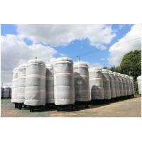 Quality Ethanol / CNG Compressed Air Storage Tank , 8mm Thickness Air Compressor Holding Tank for sale
