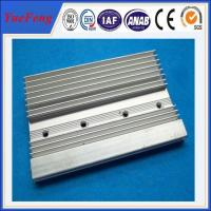 Quality aluminium extrusion t5 aluminium heatsink supplier, 6063 aluminum profiles heatsink fin for sale