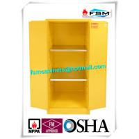 Quality Industrial Safety Storage Cabinets With Ventilation Hole For Combustible Drums for sale