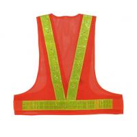 China Hot Sell High Visibility mesh Led  high reflective poly tape Safety Vest on sale
