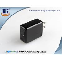 Quality Black 5V 3A  Type - C Quick Charger for Mobile Devices , Fast Data transfering for sale
