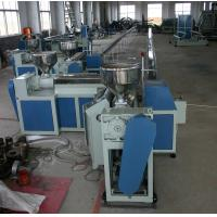 China Flexible Plastic Tubing Extrusion Machines , 75Kw Plastic Pipe Manufacturing Machine on sale