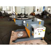 Quality 600kg Pipe Welding Positioners with Foot Pedal Control 1.1 KW Tilting Power for sale