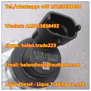 Quality BOSCH original Fuel Pressure Regulator 0928400670, 0 928 400 670 Measurement unit 01340622 ,134 0622,20794130  Genuine for sale