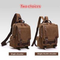 Buy cheap Dual Use One Shoulder Strap Backpack , Double Shoulders Stylish Laptop Backpack from wholesalers