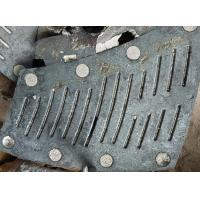 Quality Low Carbon Chrome Molybdemun Alloy Steel Castings For Ball Mill Steel Liner for sale