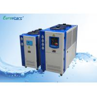 Buy Double Condenser Fan Air Cooling Commercial Water Chiller 10 HP for Central Air Conditioner at wholesale prices